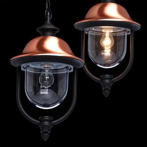 Outdoor pendant lamp Dubai Street 1 Black - 805010401 small 9