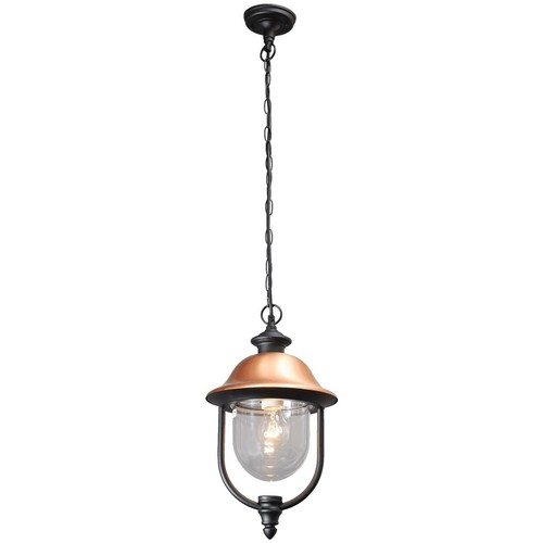 Outdoor pendant lamp Dubai Street 1 Black - 805010401