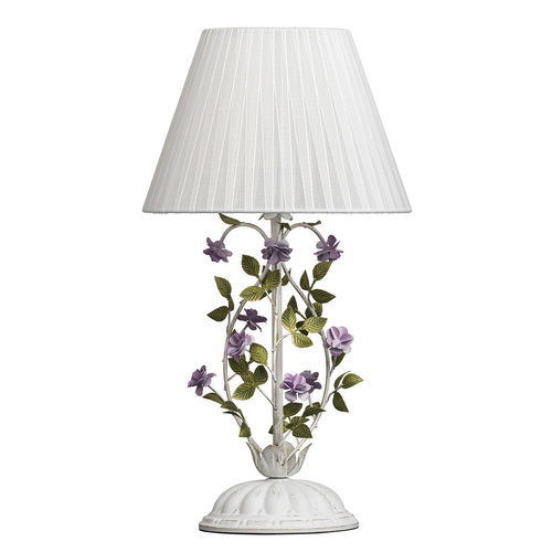 Table lamp Provence Flora 1 White - 421034601