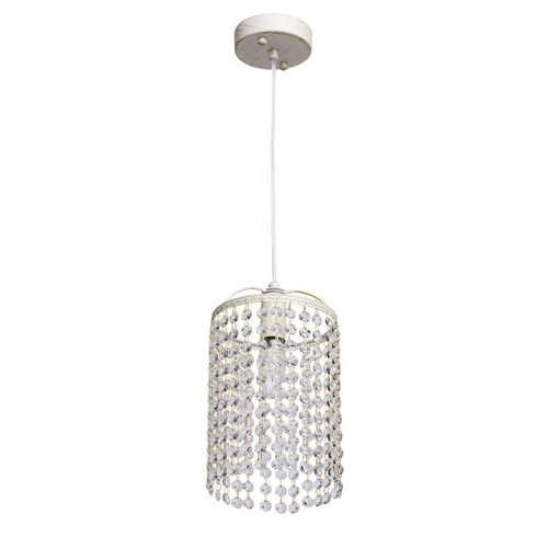 Hanging lamp Venezia Crystal 1 White - 464016801