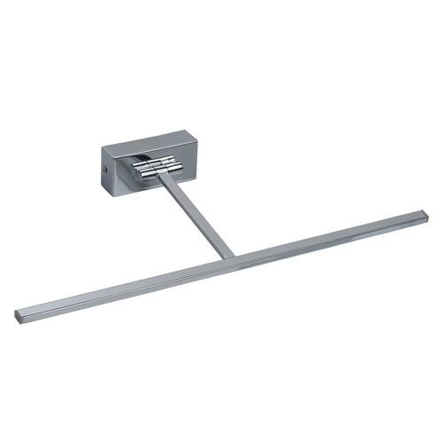 Wall lamp Cottbus Techno 1 Chrome - 492022801