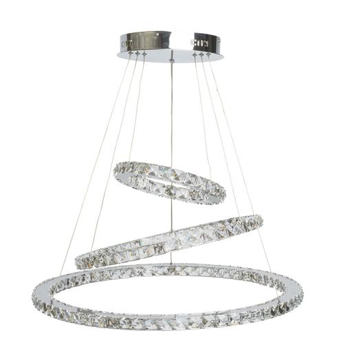 Crystal 144 pendant lamp chrome - 498011903