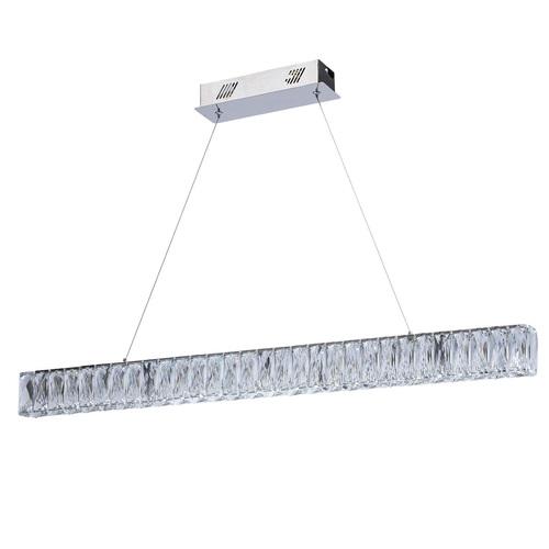 Hanging lamp Goslar Crystal 180 Chrome - 498012801