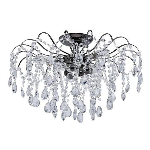 Hanging lamp Venezia Crystal 6 Gray - 464017506