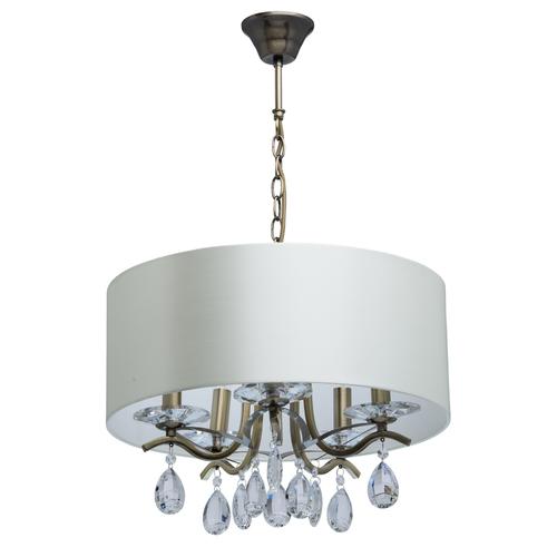 Hanging lamp Nora Elegance 5 Brass - 454010905