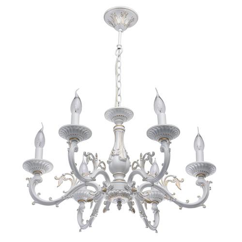 Hanging lamp Aurora Classic 6 White - 371011206