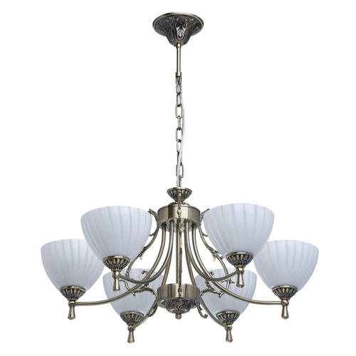 Hanging lamp Ariadna Classic 6 Brass - 450014406