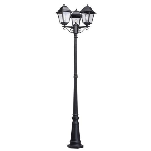 Glasgow Street Garden Light 3 Black - 815041203