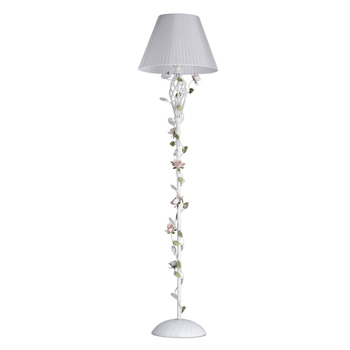 Floor Lamp Provence Flora 1 White - 421044901