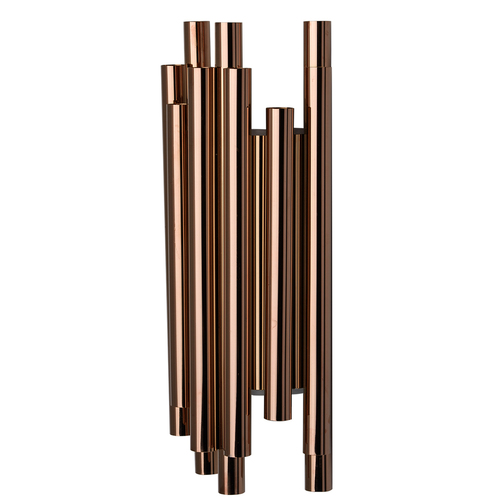Wall lamp Flensburg Hi-Tech 8 Copper - 609022508