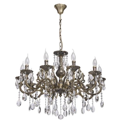 Hanging lamp Toscana Classic 10 Brass - 685010110