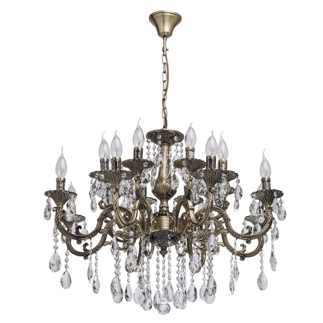 Hanging lamp Toscana Classic 16 Brass - 685010216