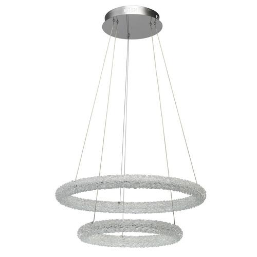 Hanging lamp Goslar Crystal 48 Chrome - 498014202