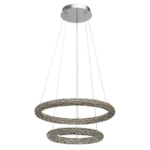 Hanging lamp Goslar Crystal 48 Chrome - 498014302