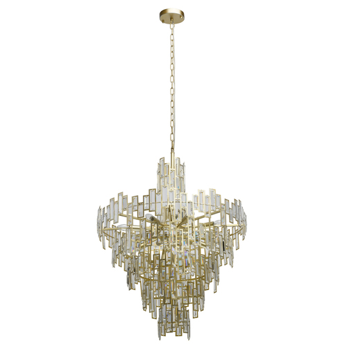 Hanging lamp Monarch Crystal 18 Gold - 121010718