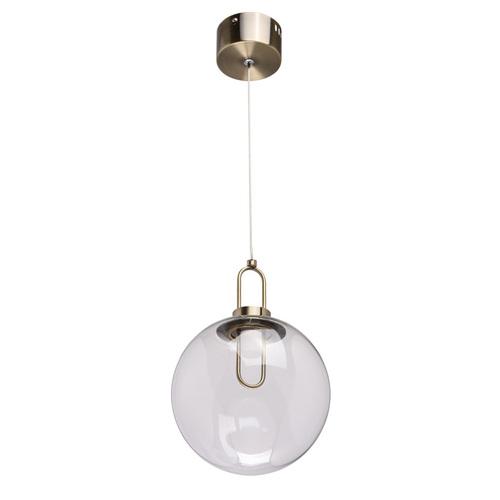 Hanging lamp Cottbus Megapolis 1 Brass - 657011101