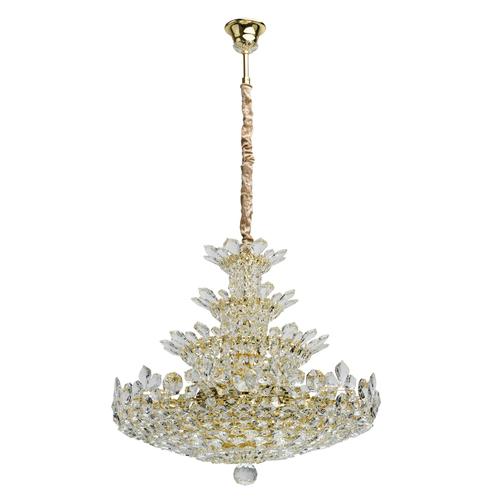 Hanging lamp Laura Crystal 26 Gold - 345011226
