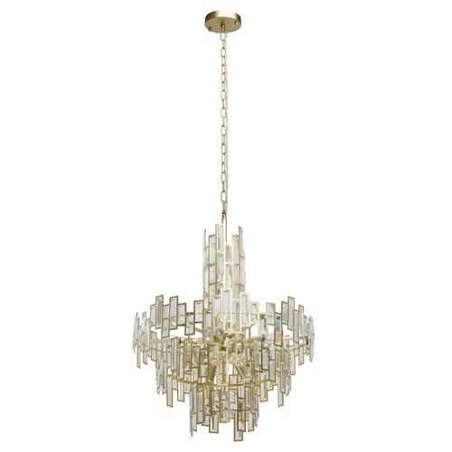 Monarch Crystal 11 Gold pendant lamp - 121010611