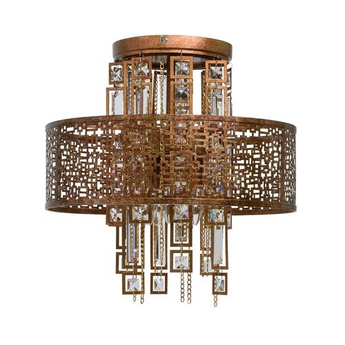 Hanging lamp Morocco Loft 5 Copper - 185010205