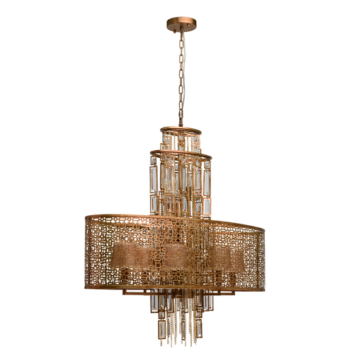 Hanging lamp Morocco Loft 10 Copper - 185010410