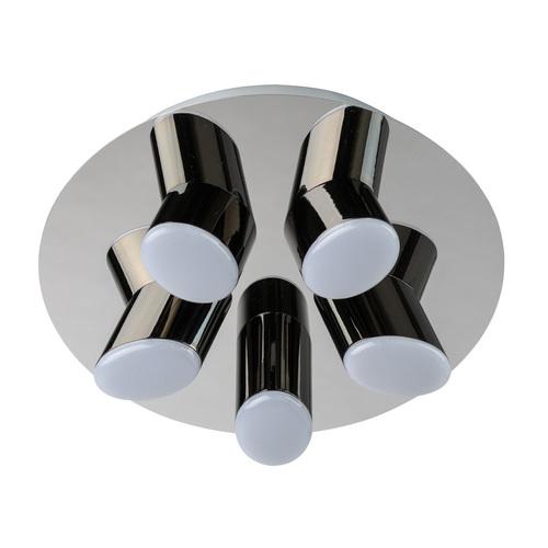 Flensburg Hi-Tech 5 Chrome pendant lamp - 609013605