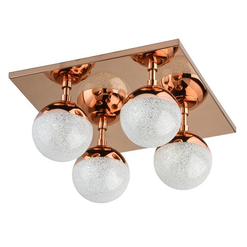 Hanging lamp Kasper Hi-Tech 4 Copper - 707010604