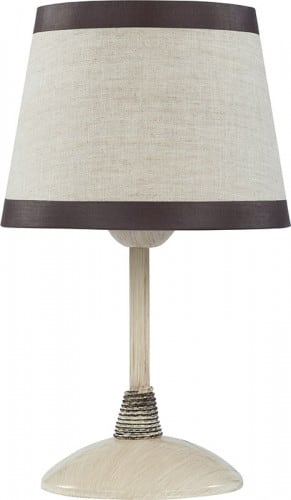 Table lamp Niki Kremowy E27 1 x 60W