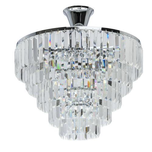 Pendant lamp Adelard Crystal 5 Chrome - 642010705