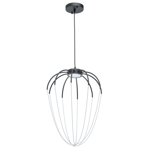 Hanging lamp Stella Loft 9 Chrome - 412010401