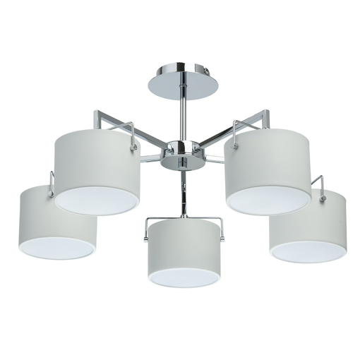Hanging lamp Town Megapolis 5 Chrome - 721010105
