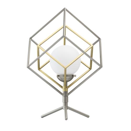 Prisma Hi-Tech 5 Silver Table Lamp - 726030401