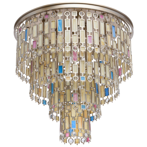 Morocco Country 10 Beige Ceiling Lamp - 185010710
