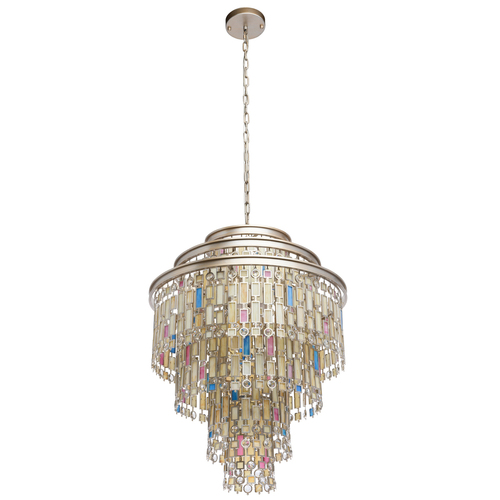 Hanging lamp Morocco Country 9 Beige - 185010809