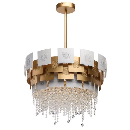 Hanging lamp Carmen Crystal 6 Gold - 394011006
