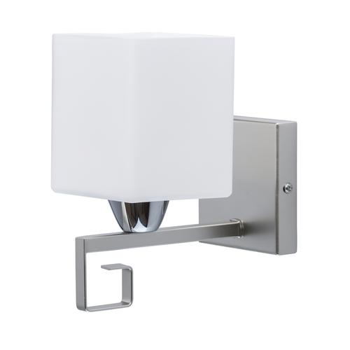 Wall lamp Alpha Megapolis 1 Silver - 673024101