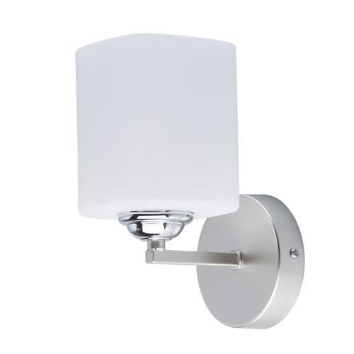 Wall lamp Alpha Megapolis 1 Silver - 673023701