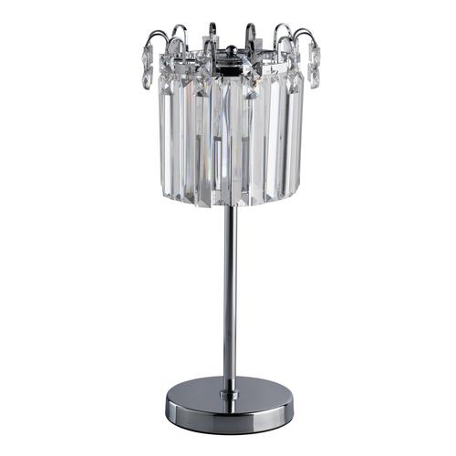 Adelard Crystal 1 Table Lamp Chrome - 642033101