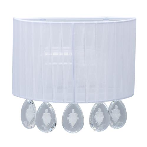 Wall lamp Jacqueline Elegance 1 White - 465025801