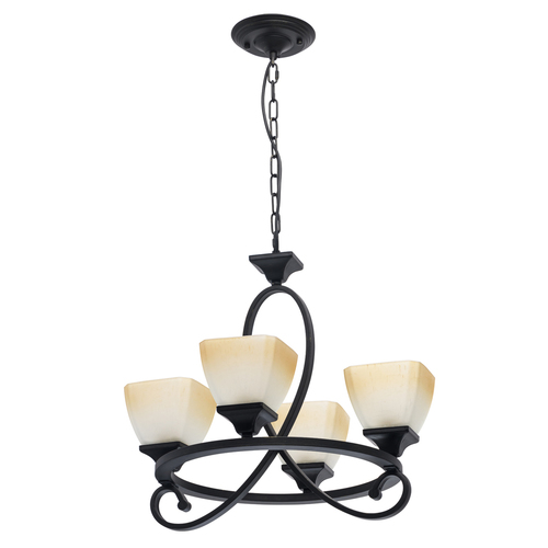 Hanging lamp Castle Country 4 Black - 249018304