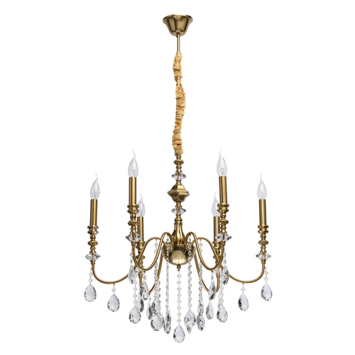 Hanging lamp Consuelo Classic 6 Brass - 614012506