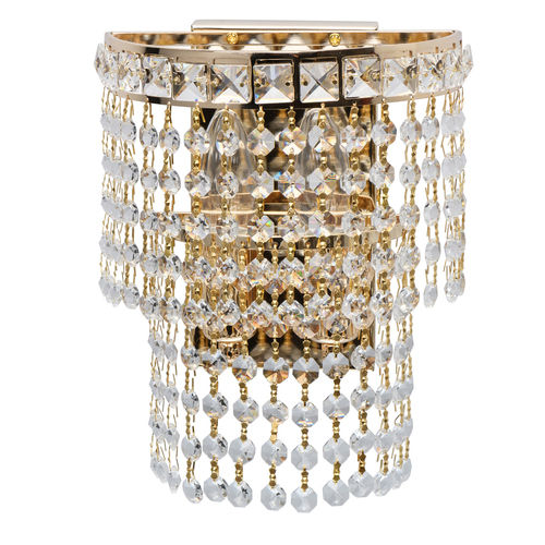 Sconce Patricia Crystal 2 Gold - 447021302