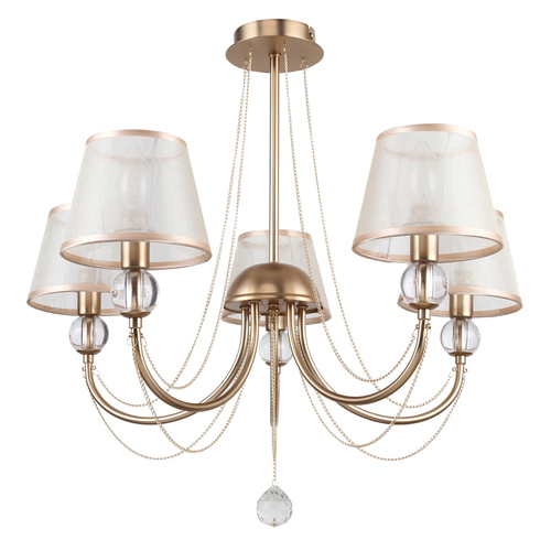 Hanging lamp Federica Elegance 5 Gold - 684011505