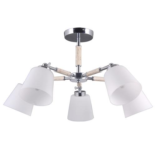 Hanging lamp Forest Megapolis 5 Chrome - 693012205