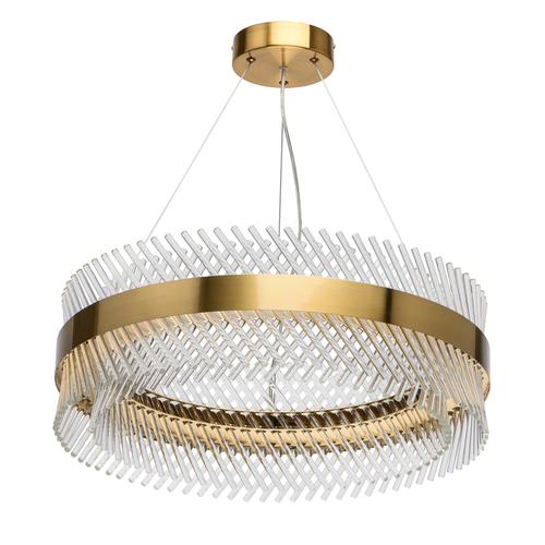 Pendant lamp Adelard Crystal 52 Brass - 642014001