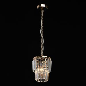 Adelard Crystal 1 Gold pendant lamp - 642014301 small 1