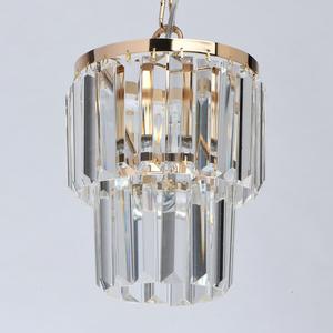 Adelard Crystal 1 Gold pendant lamp - 642014301 small 2