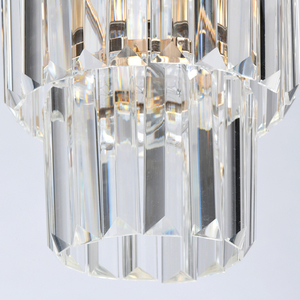 Adelard Crystal 1 Gold pendant lamp - 642014301 small 4