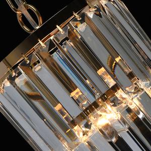 Adelard Crystal 1 Gold pendant lamp - 642014301 small 6
