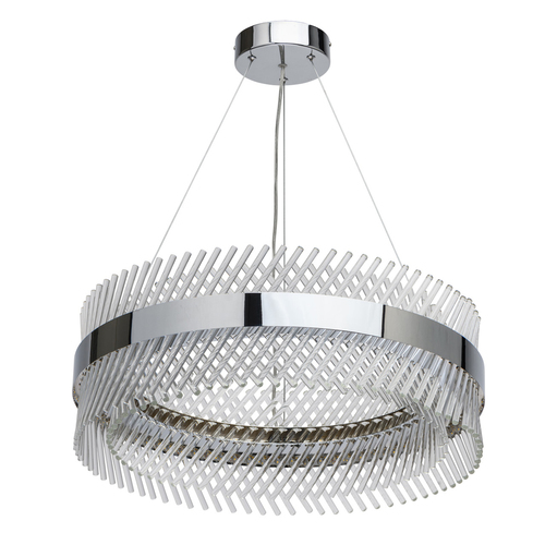 Hanging lamp Adelard Crystal 52 Chrome - 642013701