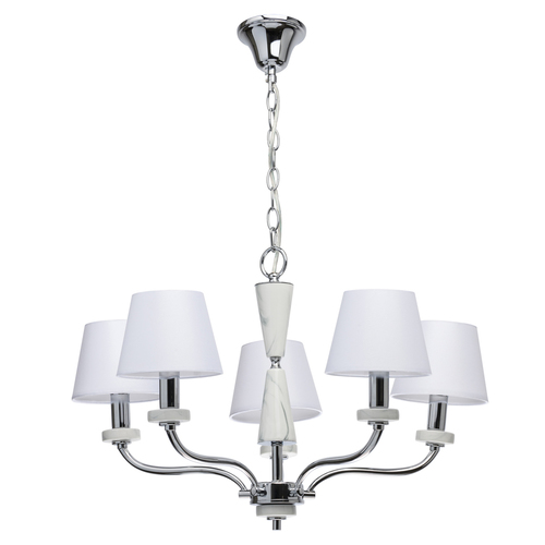 Hanging lamp Vitalina Elegance 5 Chrome - 448014205